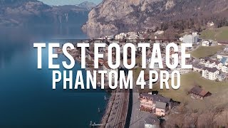 DJI Phantom 4 pro TEST FOOTAGE