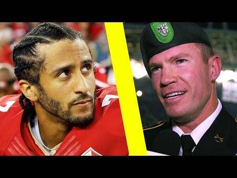 Why Kaepernick Took a Knee (US Army Veteran, Nate Boyer)