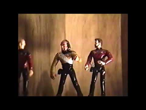 1993 Star Trek Stop Motion Animation