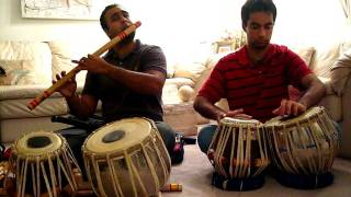 Bansuri Flute and Tabla Instrumental