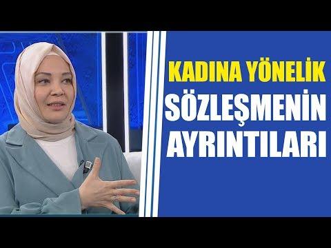 Kadına yönelik İstanbul Sözleşmesi'nin ayrıntılarını Hilal Kaplan anlattı