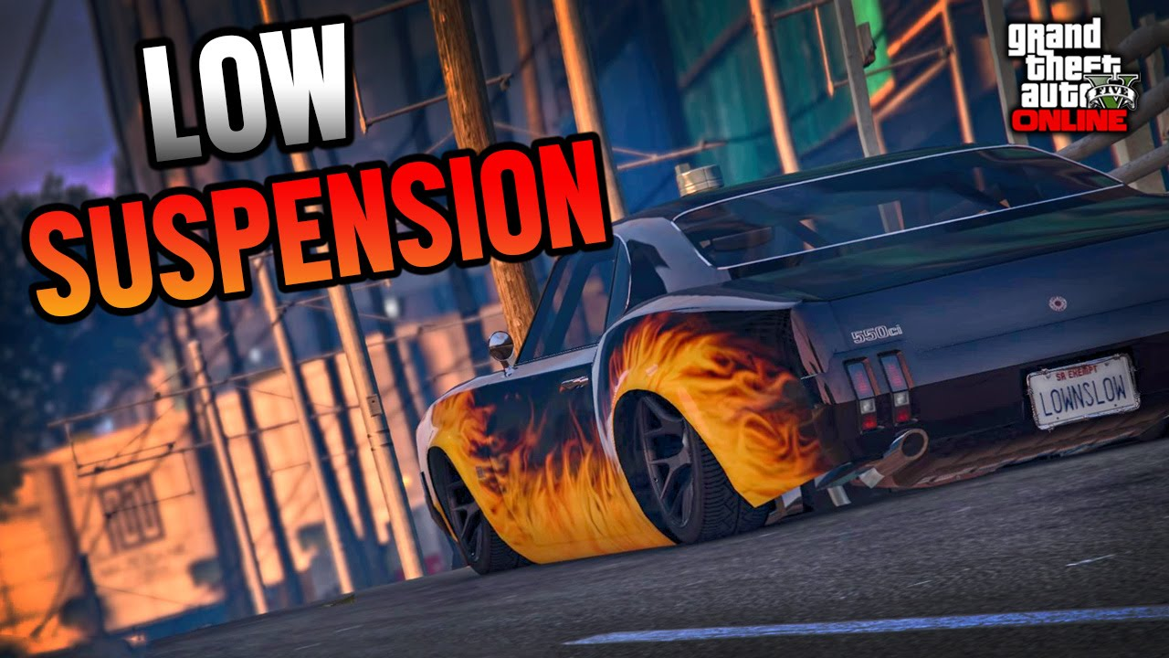 GTA 5 Online: How To Lower Sabre Turbo *Tutorial - YouTube
