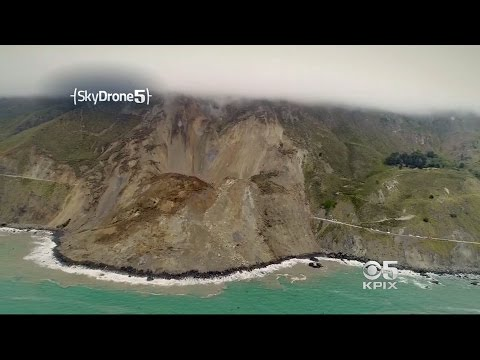 Landslide Reshapes Big Sur Coastline