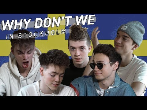 "Why Don't We in Stockholm - ""Infart Kundparkering"""