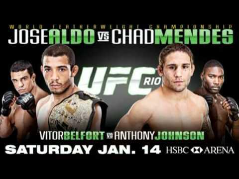 UFC 142: RIO Full Media Conference Call Audio