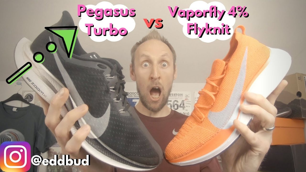The Nike Zoom Pegasus 35 Turbo vs the