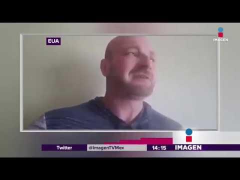 Racista llora cuando se entera que podrían arrestarlo | Noticias con Yuriria Sierra