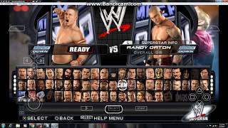WWE SMACKDOWN VS RAW 2011 PPSSPP GAMEPLAY PC.