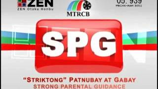 MTRCB TV Rating Classification: Rated SPG