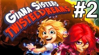 Giana Sisters: Twisted Dreams - Прохождение [HD] Часть 2(, 2013-07-22T21:53:56.000Z)