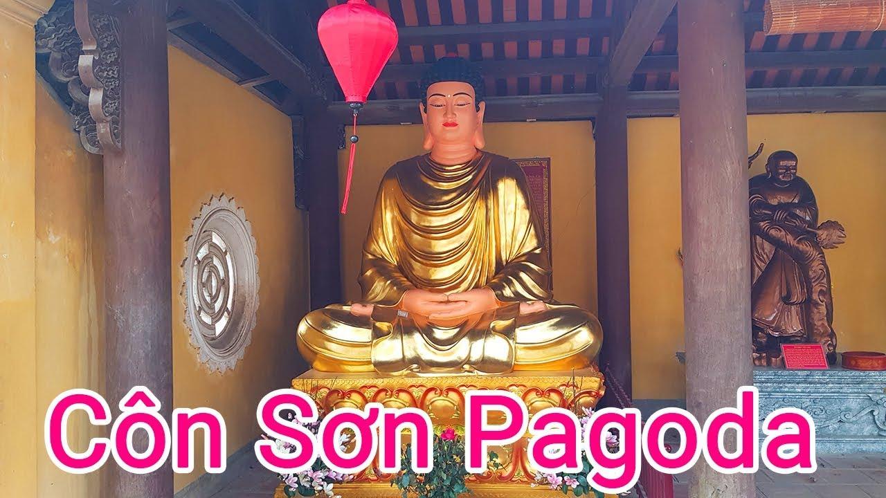 """Chùa Côn Sơn """"Côn Sơn Kiếp Bạc"""" Chí Linh, Hải Dương – 16 tháng 2, 2020 – Côn Sơn Pagoda"""