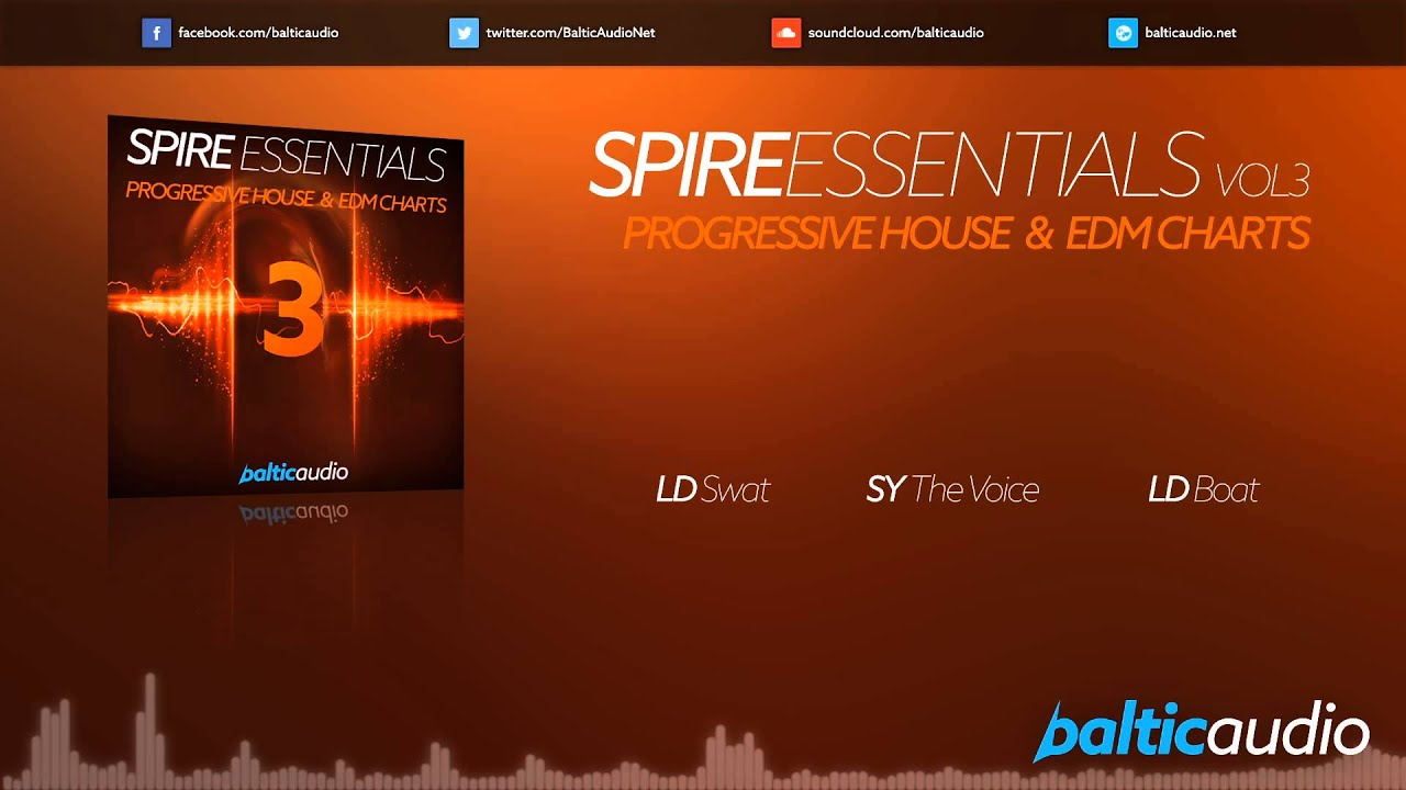 Spire Essentials Vol 3: Progressive House & EDM Charts (64 Spire presets, 40+ MIDI files)