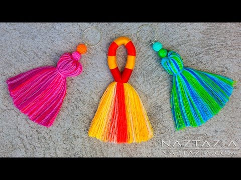 DIY Tutorial How to Make a Tassel - Tassels Tassle Tassles B