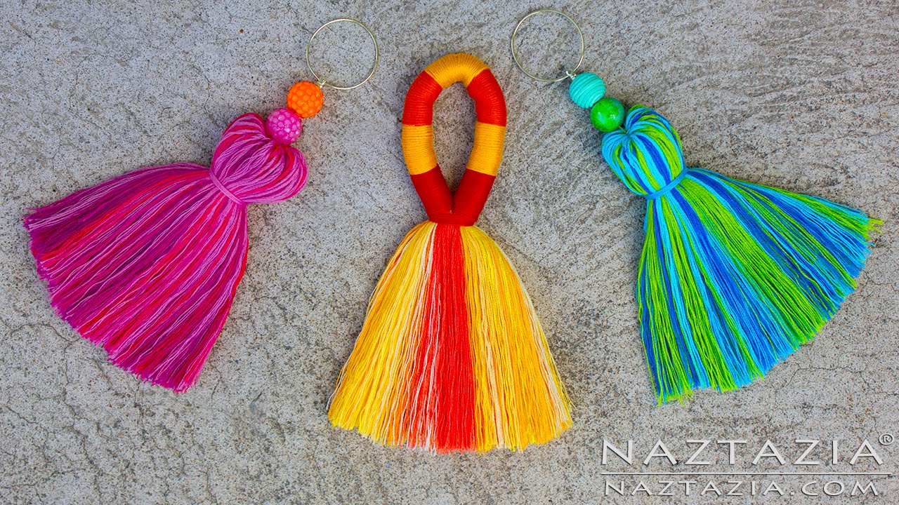 a236a16b08e DIY Tutorial How to Make a Tassel - Tassels Tassle Tassles Borlas - Easy  Simple - YouTube