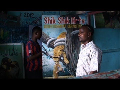 Mogadishu art scene reemerges after years of conflict