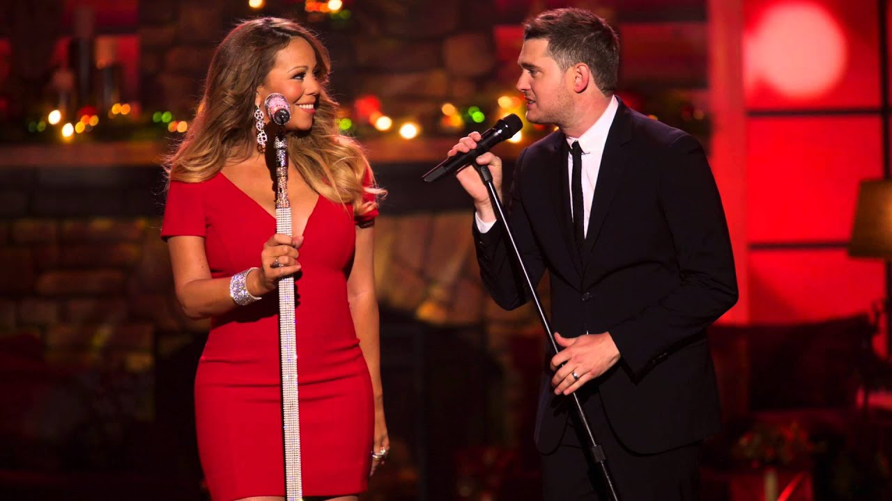 Michael Buble Mariah Carey All I Want For Christmas Youtube