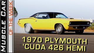 1970 Plymouth 'Cuda 426 Hemi: Muscle Car Of The Week Episode 263 V8TV