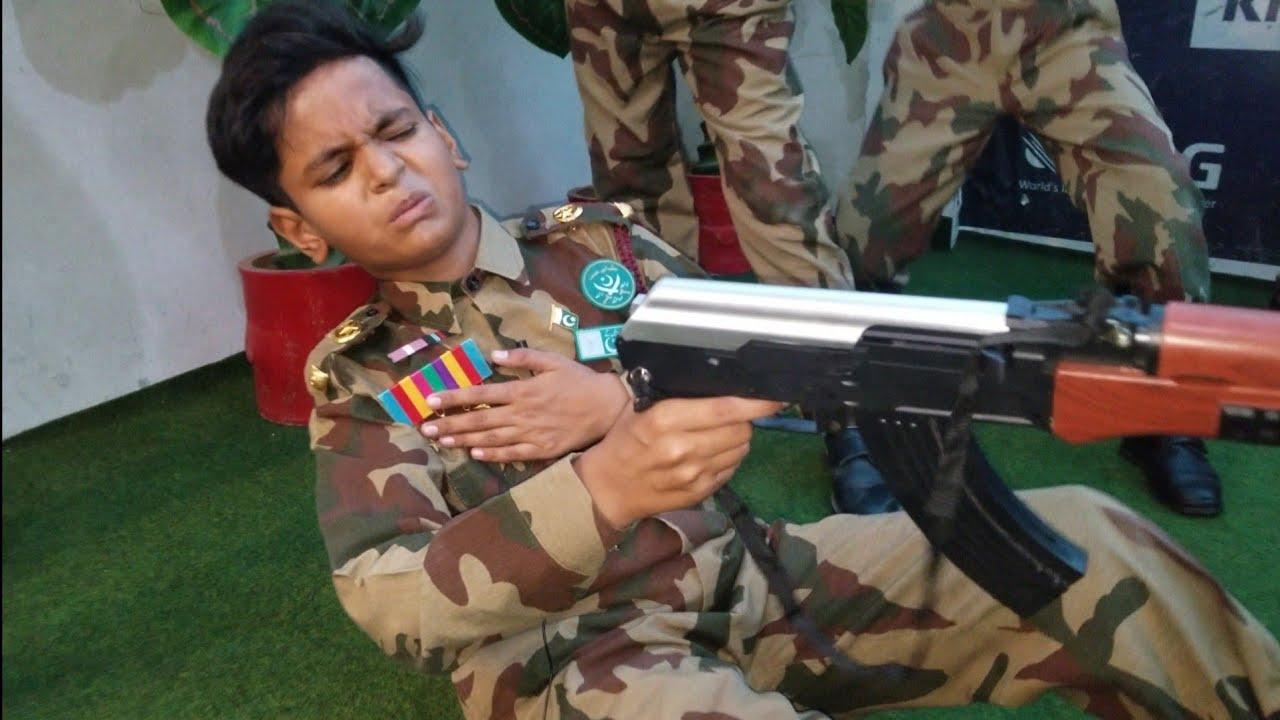 A brave Pak Army Officer died & saved his country   Pak Army Videos   Pak Army Tablos 2020