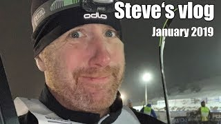 Vlog January 2019 - Cross-country Skiing Race?