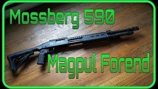 Unboxing and Install: Magpul MOE Mossberg 590 Forearm