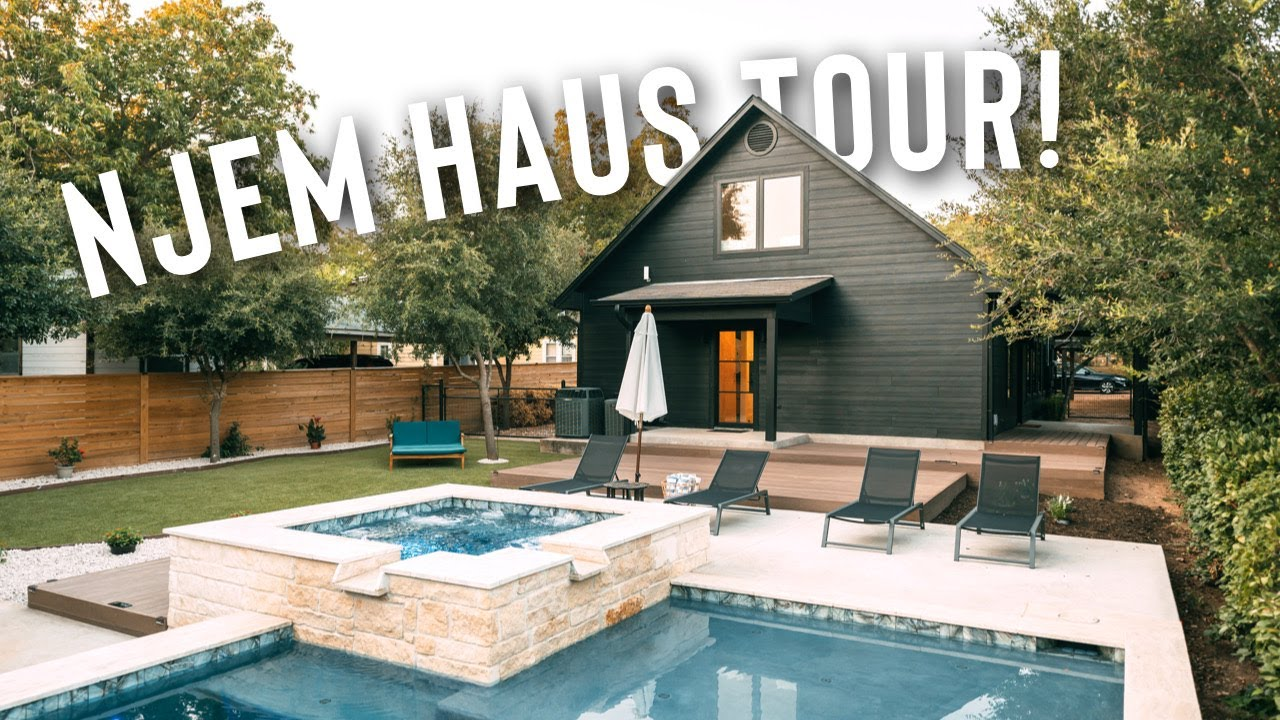 Insane Luxury Airbnb w/ HUGE POOL | Njem Haus Tour! (House Tour)