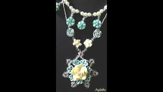 Download Video Aylake - How to do beaded necklace