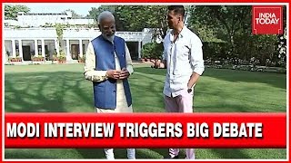 PM Modi-Akshay Interview: Case Of Sour Grapes For Congress? | Election Newstrack With Rahul Kanwal