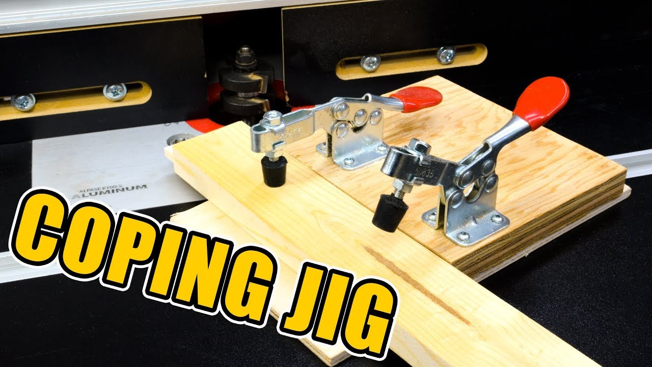 Router table coping sled for cabinet door frame making youtube router table coping sled for cabinet door frame making keyboard keysfo Choice Image