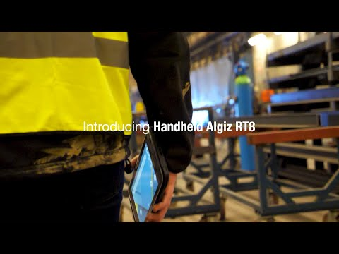 Handheld Launches the ALGIZ RT8, a New Ultra-rugged Android Tablet