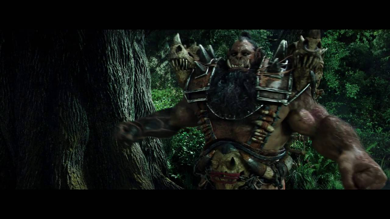 Warcraft Movie Clip Lothar And His Soldiers Attacked By Orcs Youtube