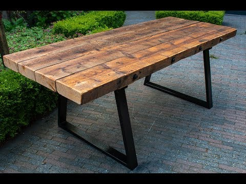 Reclaimed Barnwood Dining Table You