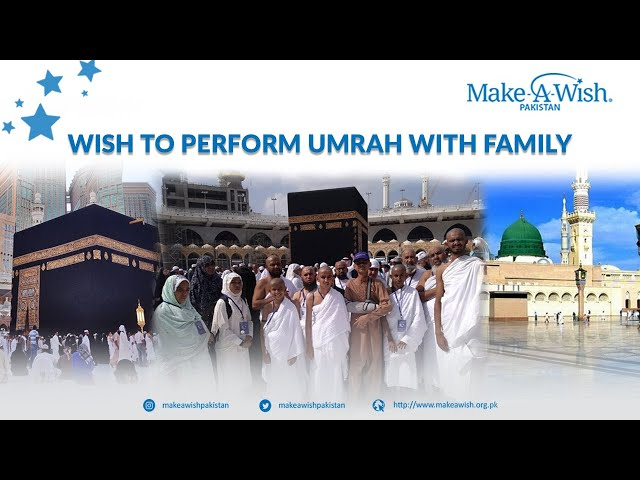 Wish to perform Umrah with family