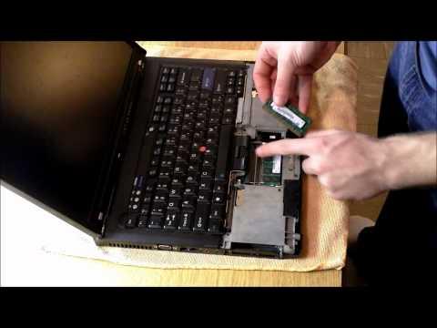 Tutorial: Upgrading the Ram on a Lenovo or IBM Thinkpad