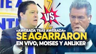 😅MOISES URBINA Y MINISTRO ANLIKER SE AGARRARON CON TODO EN TV EN VIVO😅