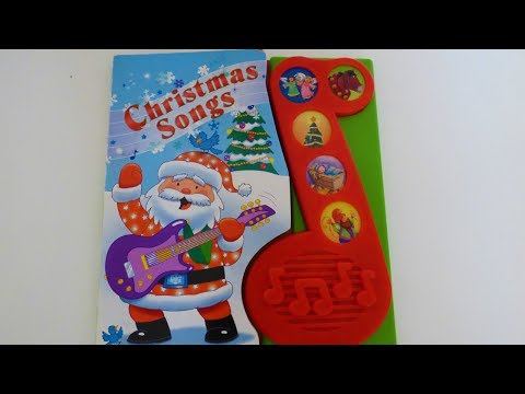 Christmas song-play a song book