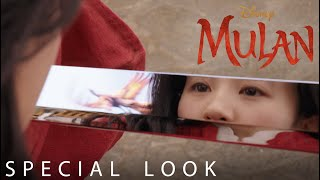 "Disney's Mulan | Special Look at ""Loyal Brave True"" performed by Christina Aguilera"