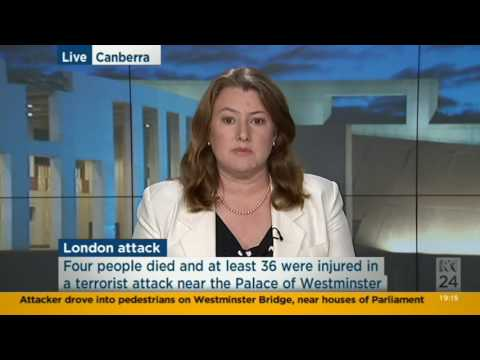 London terror attack. Jacinta Carroll ABC News24
