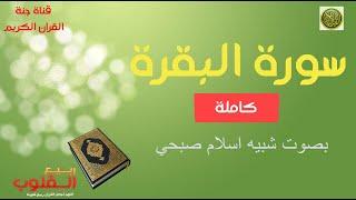 سورة البقرة 🌹 لقارىء شبيه اسلام صبحي ❤️كاملة تلاوة رائعة  Surah Al Bakara