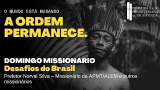 A ordem permanece   - Desafios do Brasil