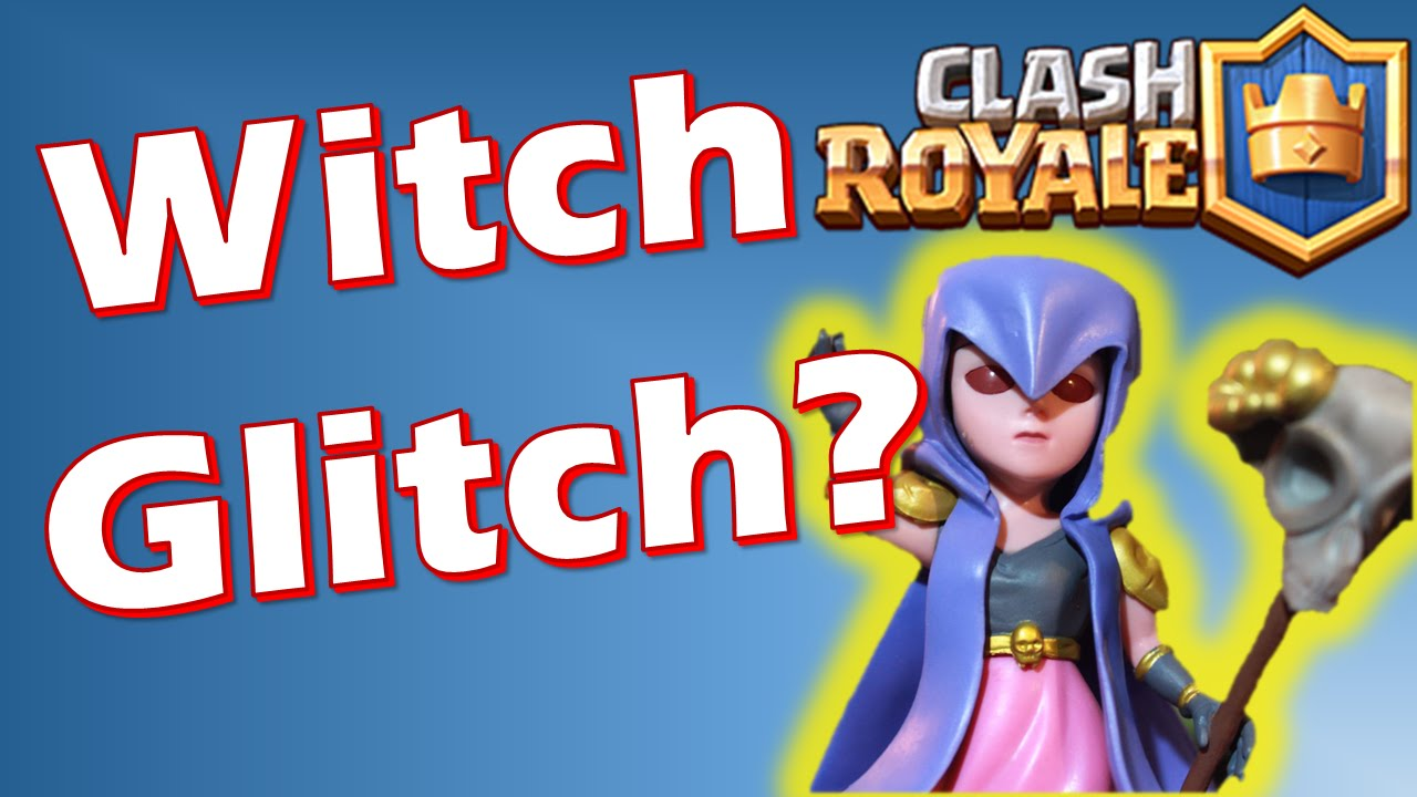 how to kill a witch in clash royale