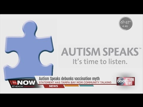 Autism Speaks debunks vaccination myth #TheNowTampaBay
