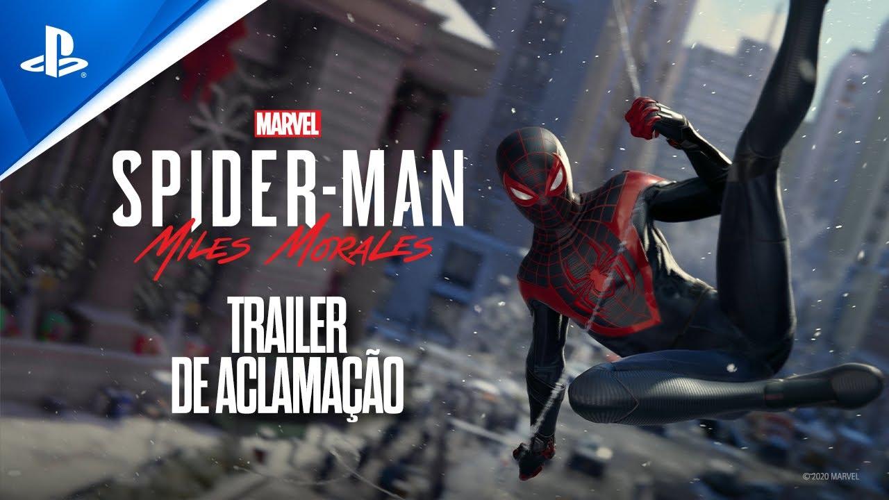 Marvel's Spider-Man: Miles Morales — Trailer de anúncio