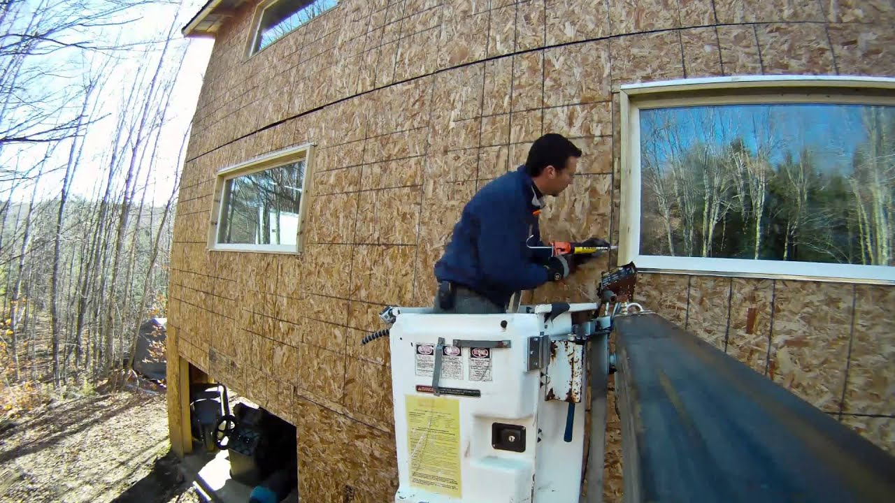 Siding a house diy