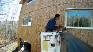 Preparing For Vinyl Siding Installation - 63 - My Diy Garage Build Hd Time Lapse