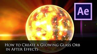 Parlayan bir Cam Küre Oluşturmak için nasıl After Effects Öğretici