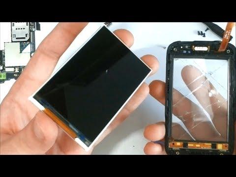 HTC Wildfire S Display Wechsel Reparaturanleitung Touchscreen Glas Lautsprecher Reparatur Anleitung