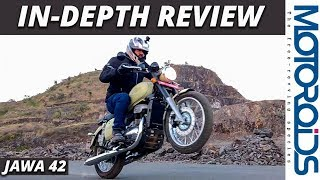 Jawa 42 In-Depth Review | 0-60, 0-100 km/h, Top Speed, Adjustable Exhaust Sound | Motoroids