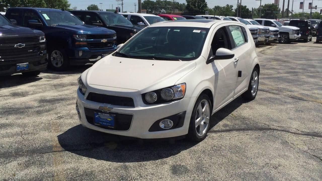 2016 Chevy Sonic Hatchback Ltz For Sale Wheeling Bill Stasek Chevrolet