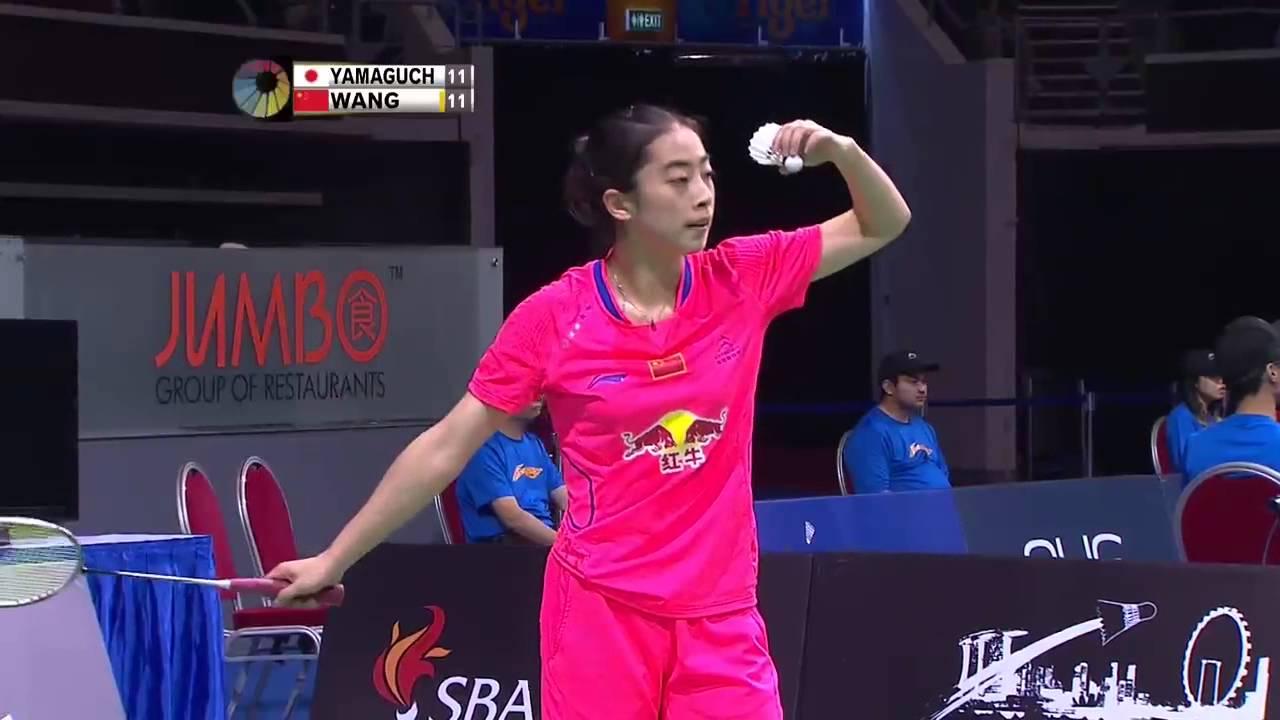 Akane Yamaguchi vs Wang Shixian