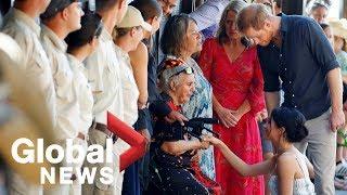 Prince Harry and Meghan Markle explore Australia's Fraser Island